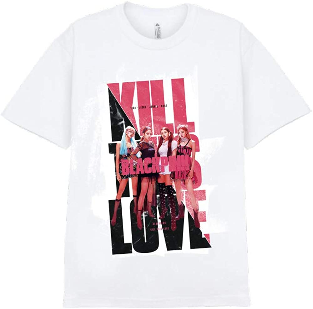 YG Entertainment Idol Goods Fan Products Select Blackpink CHAPTER1 T-Shirts_TYPE2