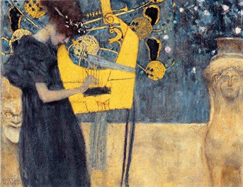 Laminated 25x19 Poster: Gustav Klimt - Klimt, Gustav Fine Arts, 19th c. The Red List
