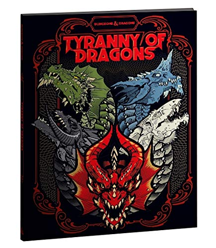 Dungeons and Dragons RPG: Tyranny of Dragons Alternate Cover