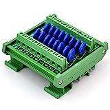 Chunzehui DIN Rail Mount 60V SIOV Metal Oxide Varistor Interface Module, 16 Channels Common.