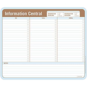 Knock Knock Information Central Paper Mousepad, 9.5 x 8-inches