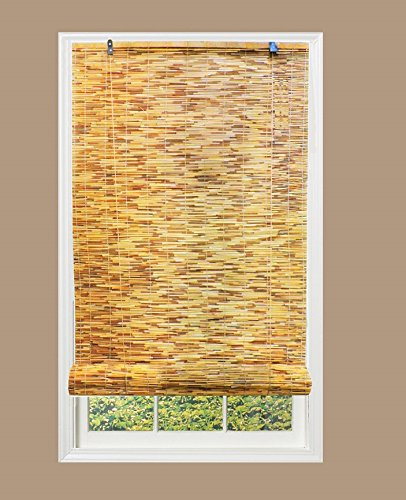 RADIANCE 0360486 Natural Woven Reed Light Filtering Roll Up Window Blind, 48-Inch Wide by 72-Inch High by RADIANCE (Image #4)