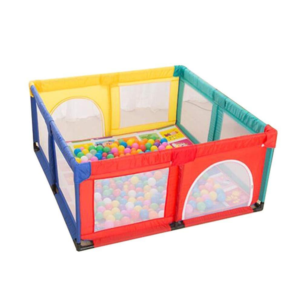 幼児用Playard Safety Playpen、通気性メッシュのあるアクティビティセンターフェンス、屋内と屋外の遊び場 (サイズ さいず : 150×150×70cm) 150×150×70cm  B07P9G8KDC
