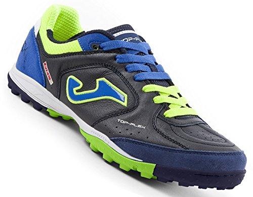 Joma Top Flex, Zapatos de Futsal Unisex Adulto Azul
