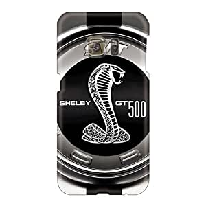 Shock Absorption Hard Phone Case For Samsung Galaxy S6 With Support Your Personal Customized HD Ford Mustang (18) Pattern AlainTanielian