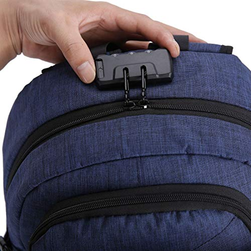 Backpack For Large Charge Usb Style Lock Capacity Laptop Casual Waterproof Notebook Coded Bag Anti theft Slot Shoulder 5H8Pqpz
