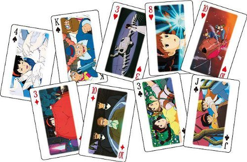 Studio Ghibli Playing Cards - Castle in the Sky