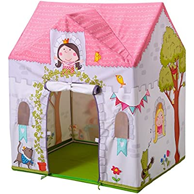 HABA Princess Rosalina Castle Play Tent with Roll Up Doors and Windows for 18 Months and Up: Toys & Games
