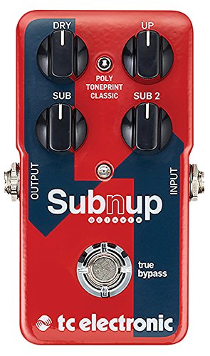TC Electronic Sub N Up Octaver Dual Octave Pedal