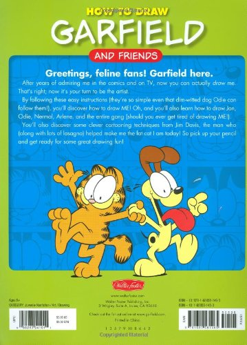 How to Draw Garfield and Friends (Licensed Learn to Draw)