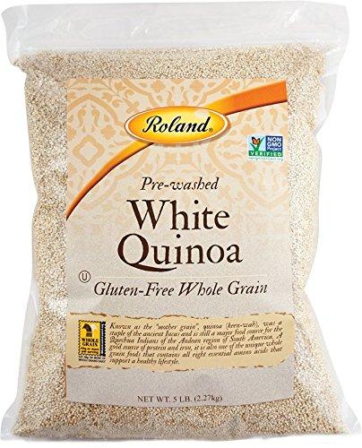 Roland Quinoa, White, 5 Pound