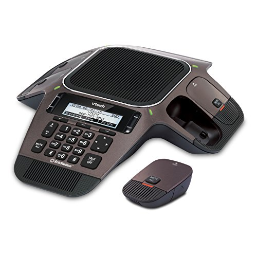 Vtech VCS754 ErisStation Conference Phone with 4 Wireless Microphones VoIP and Device