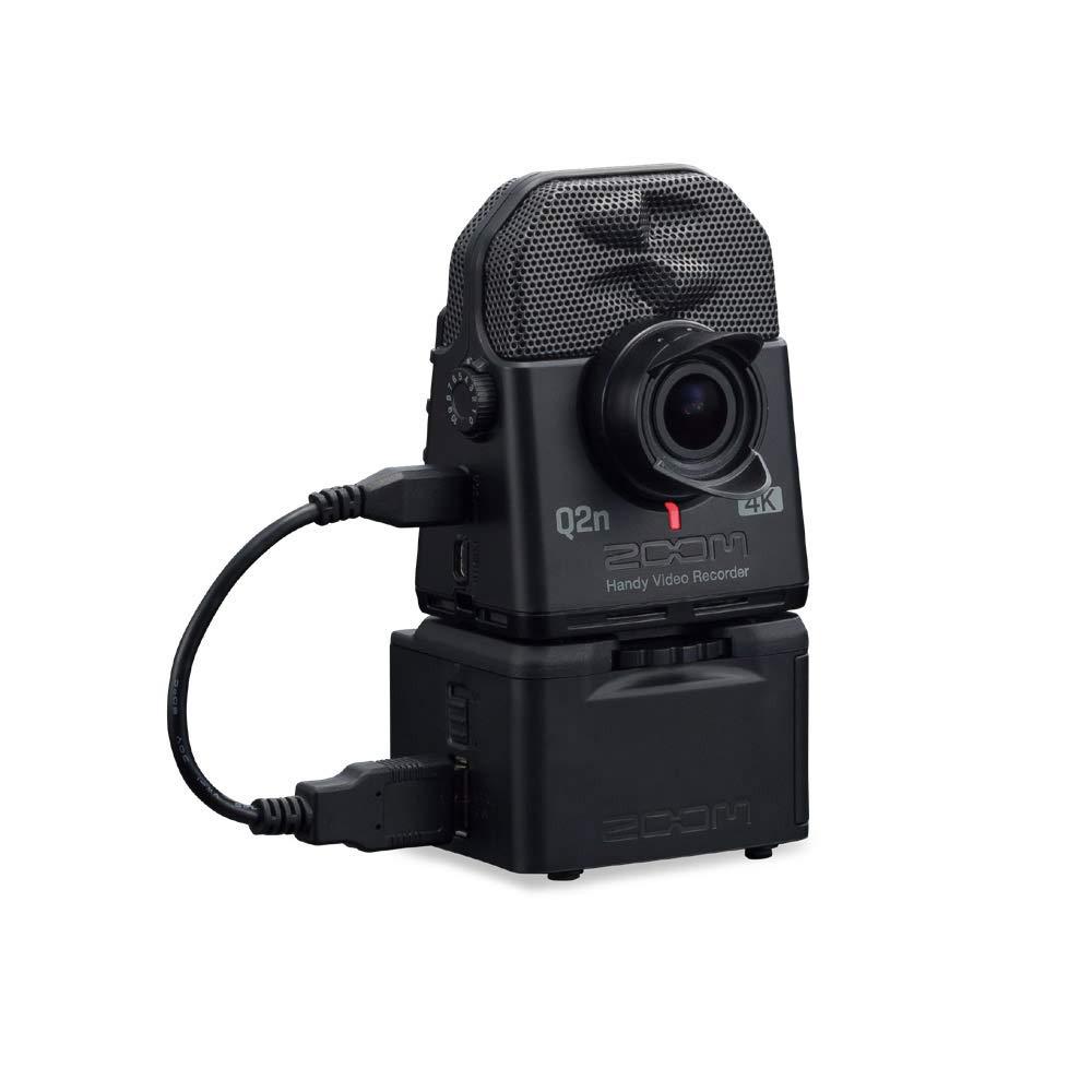 ZOOM Q2n-4K + BCQ-2n(バッテリーケース)セット 4Kカメラ ハンディービデオレコーダー ズーム   B07Q8F37N3