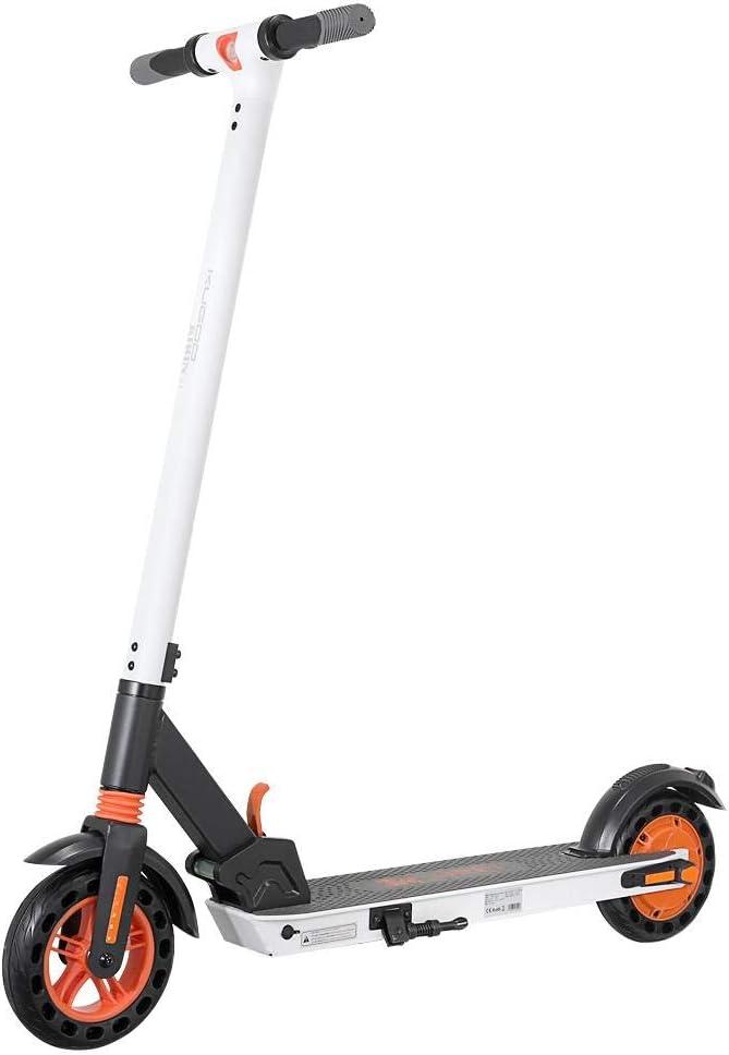 GoZheec Elektroscooter,KUGOO/&Kirin S1 Faltbarer Elektroroller,APP-Steuerung,350W Motor 6AH Hochleistungsbatterie Die H/öchstgeschwindigkeit erreicht 25km//h,8-Zoll-Reifen f/ür Erwachsene und Jugendliche