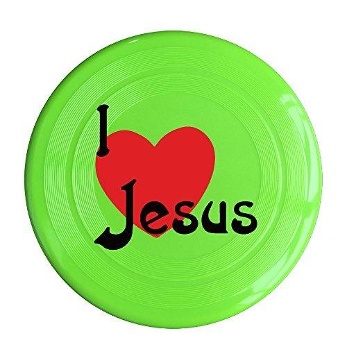 FLY I Love Jesus Christian Plastic Flying Sport Disc - Lively Blake Sunglasses