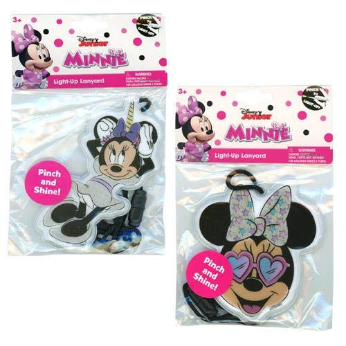 L.O.L Surprise or Disney Minnie Mouse Toy Light Up Lanyard for Girls(+3 Years) (Minnie Bow)]()