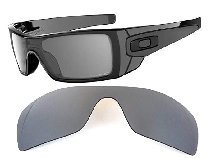 Galaxy Lentes de Repuesto para Oakley Batwolf Titanio Color ...