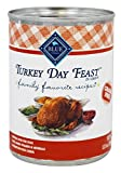 Blue Buffalo – Family Favorite Recipes Canned Dog Food Turkey Day Feast – 12.5 oz.