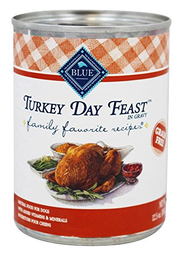 Blue Buffalo - Family Favorite Recipes Canned Dog Food Turkey Day Feast - 12.5 oz.