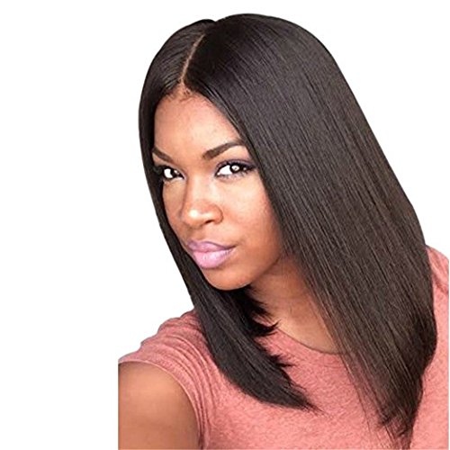 Long Natural Straight Women Wigs Synthetic Wig(light brown) (Wigs For Black Women)