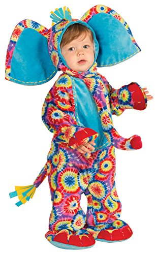 Forum Novelties Baby Boy's Lil' Party Animals Psychedelic Elephant Costume, Multi, (Psychedelic Elephant Baby Costumes)
