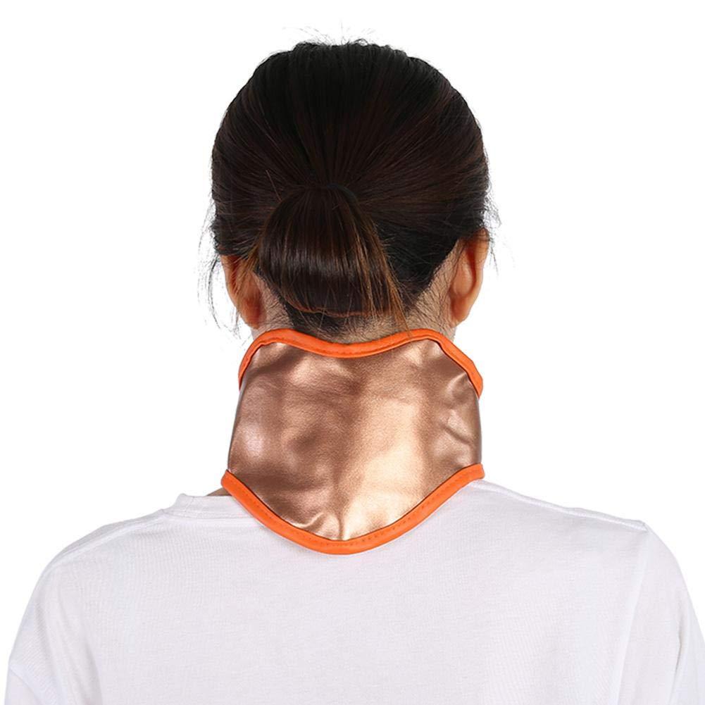USB-Aufladung einstellbar Elektrischer Geb/ärmutterhalsg/ürtel elektrische Heizmassage Geb/ärmutterhalsg/ürtel-Aufblasbarer und verstellbarer Nackenkragen F/ür die Hei/ßtherapie Schmerzlinderung