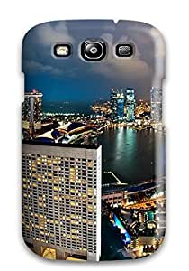 Perfect Singapore City Case Cover Skin For Galaxy S3 Phone Case