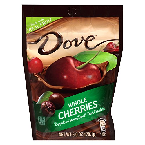 Dove Whole Cherries Dipped in creamy Dove chocolate 6.0 oz. by by Dove