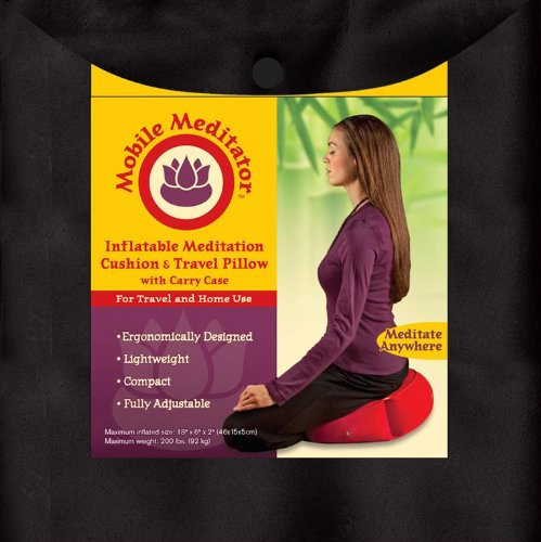 Mobile Meditator Inflatable Meditation Cushion Review