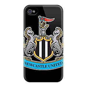 Anti-Scratch Hard Phone Cover For Iphone 4/4s With Provide Private Custom HD The Famous Team England Newcastle United Series KennethKaczmarek