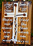 Cheap Wooden Cross Rustic Wedding Wall Decor Real Tree Pegs