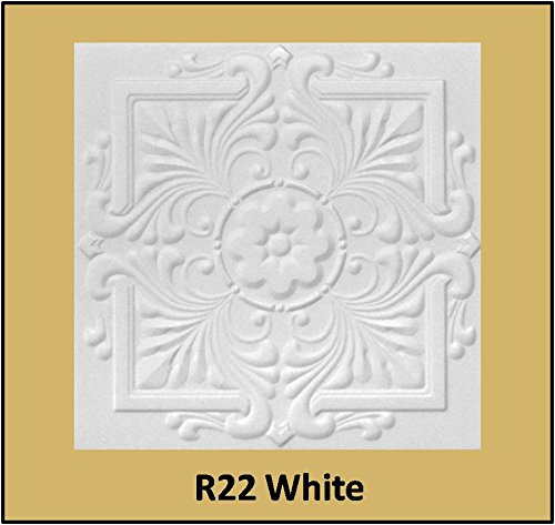 tin-look-glue-up-ceiling-tiles-20x20-styrofoam-extruded-polystyrene-r22w-lot-of-8