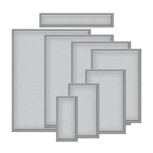 Rectangles Die Template - Spellbinders S5-131 Nestabilities Card Creator A-2 Matting Basics A Die Templates