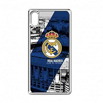 Carcasa Rígida de Plástico,Real Madrid Funda para Sony ...