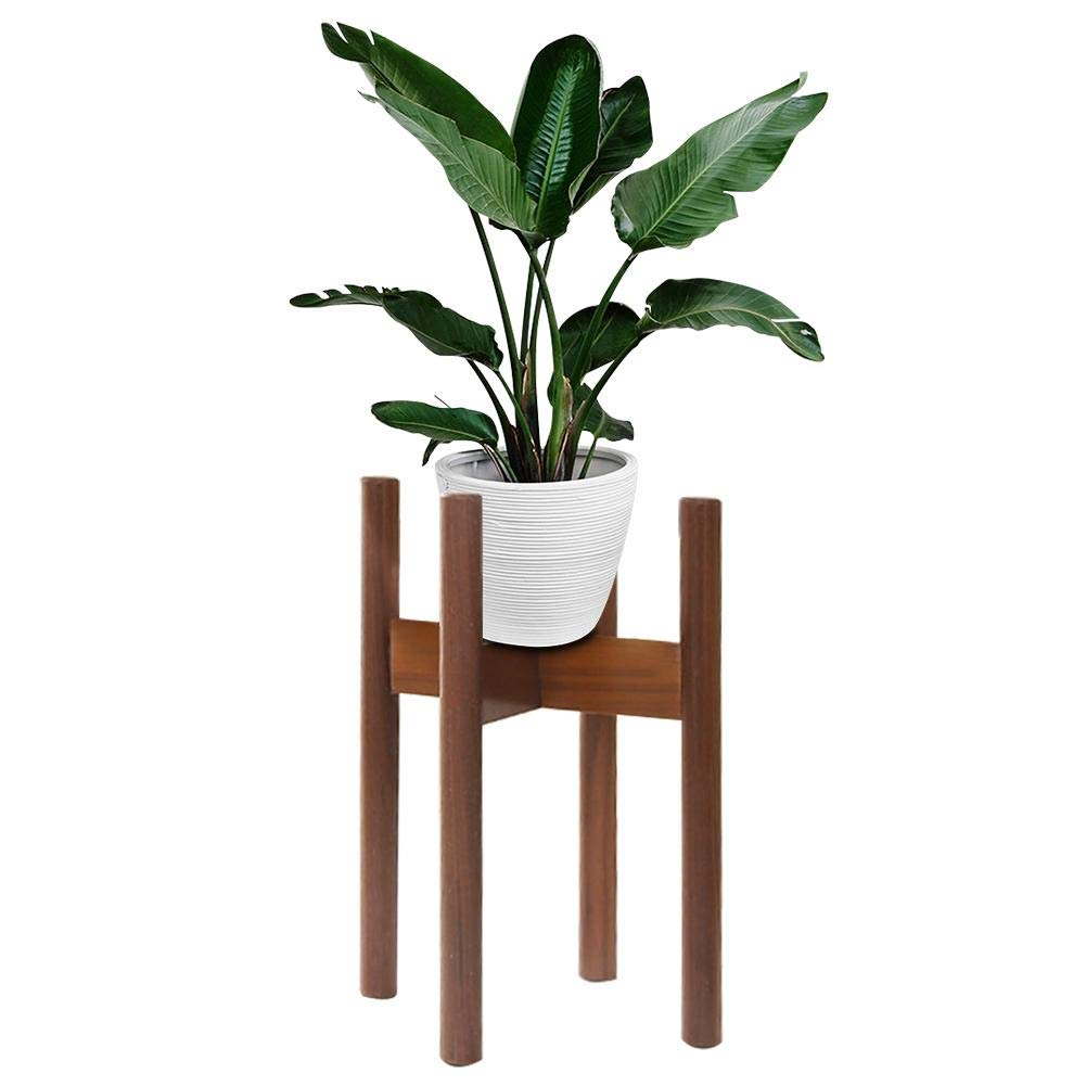 Big-time Wooden Plant Stand, Indoor/Outdoor Flower Pot Stands,Modern Flower Pot Holder Display Potted Rack for House, Garden, Patio (Planter Not Included),2135cm