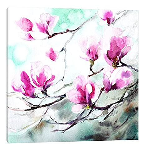 iCanvasART Magnolia Spring Canvas Print by CanotStop 37 x 37
