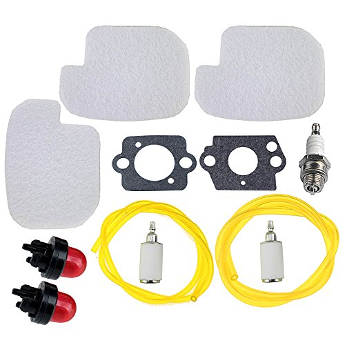 (HIPA 530057925 Air Filter Fuel Repower Kit for Poulan P3314 P3416 P3816 P4018 PP3416 PP3516 PP3816 PP4018 PPB3416 PPB4018 PPB4218 S1970 Gas)