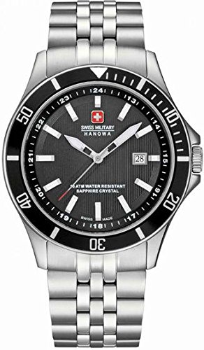 Hanowa Swiss Military Flagship Mens Wristwatch Classic & Simple