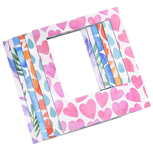 Polaroid 6 Designer Magnetic Picture Frames For 3x4 Photo Paper (POP) by Polaroid