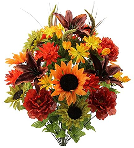 Compare price for Autumn Centerpiece For Table