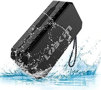 LOBKIN Portable Wireless Stereo Waterproof Bluetooth Speaker