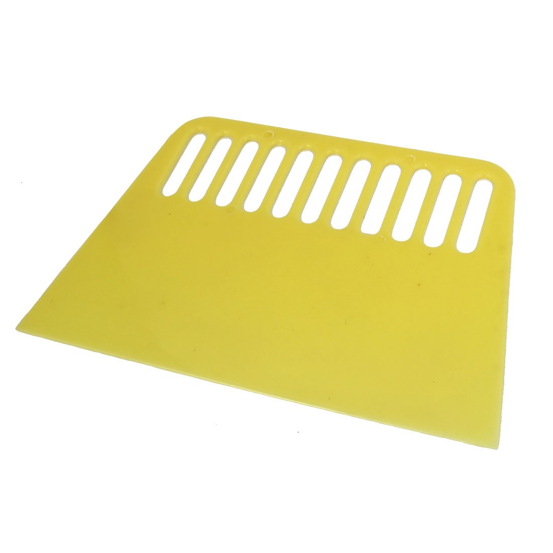 5 Wide Plastic Varnish Paint Remover Putty Scraper Light Yellow uxcell a14090500ux0040