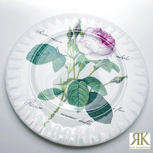 Roy Kirkham Redoute Rose Bread & Butter Plate 20cm