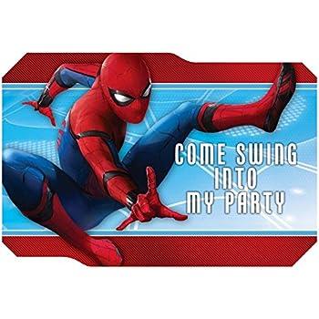 Stumps Shindigz Marvel Spider Man Homecoming Invitations