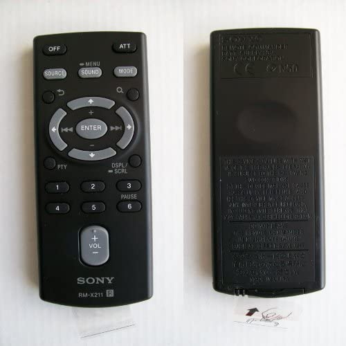 Genuine Sony RM-X211 Car Stereo Remote Control
