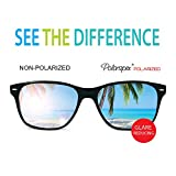 Polarspex Polarized 80s Retro Classic Trendy Stylish Sunglasses for Men Women