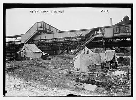Foto: tiendas de campaña de gitano campamento, Brooklyn, NY, New ...
