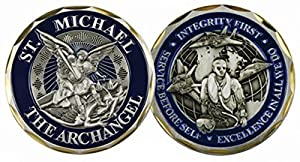 St. Michael the Archangel Airman Challenge Coin 3130 by Eagle Crest from Eagle Crest