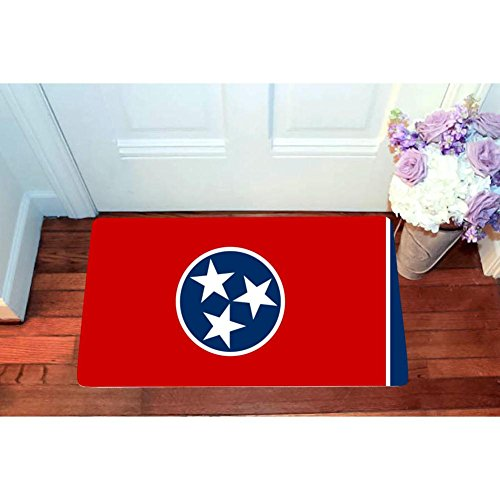 US Flag of Tennessee Entrance Door Mat Square Doormat for sale  Delivered anywhere in USA