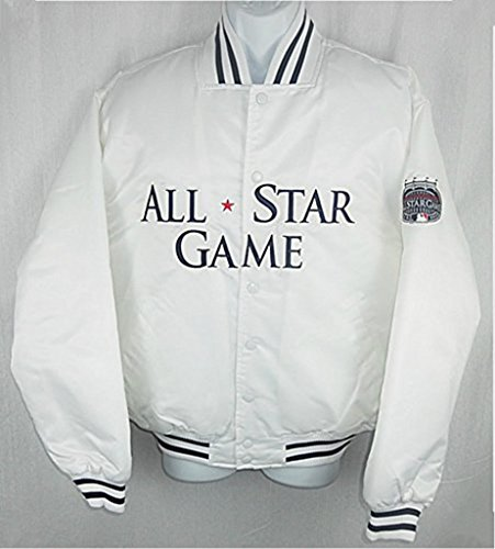 Majestic OLD YANKEE STADIUM MLB 2008 ALL STAR GAME JACKET RARE (XL)